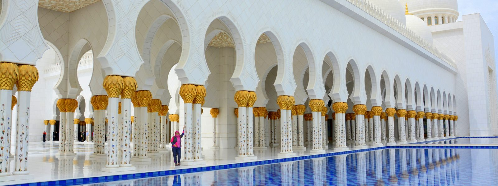 Abu Dhabi and Sheik Zayed Grand Mosque