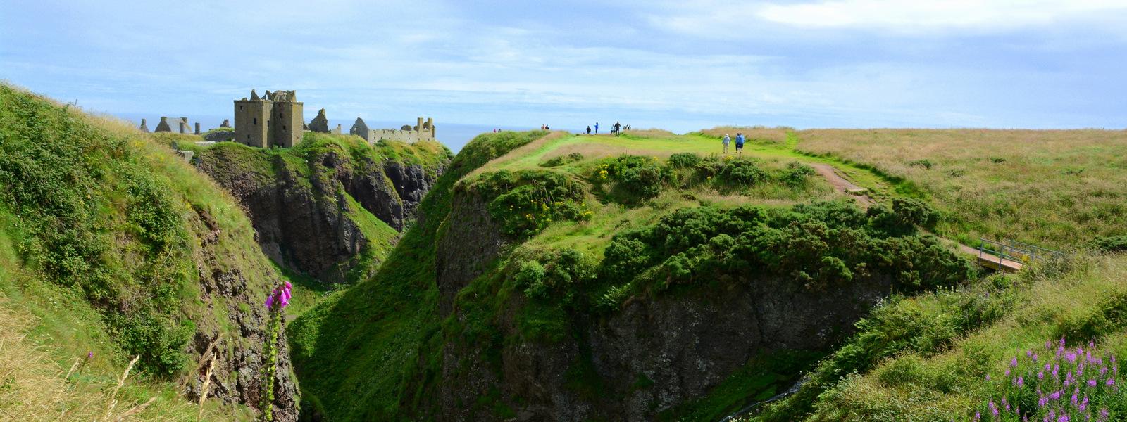 Dunnotar in Balmoral – idyllic Scottish castles
