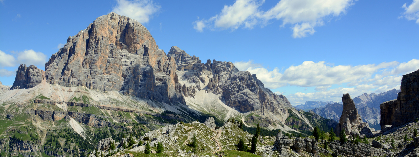 Idyllic weekend off in the Dolomites